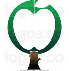 green apple martini this apple tree stock logo clipart panda free clipart images