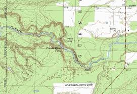 topo maps wisconsin my wisconsin space topographic map of potato river falls