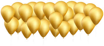 gold balloons gold balloons png clip image gallery yopriceville high