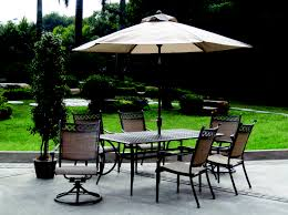 7 Piece Patio Dining Sets Clearance by Patio Inspiring Patio Sets With Umbrella Patio Umbrellas On
