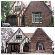 what makes a house a tudor great exterior update of tudor home e x t e r i o r s pinterest