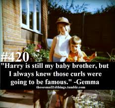 sister curls her brother hair 420 harry is still my baby brother but i always knew those