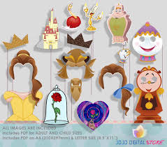 photo booth props for sale sale beautiful and beast party photo booth props princess