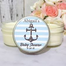 baby shower candle favors baby shower favors nautical baby shower favors baby shower