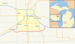 Owosso Mi Map M 6 Michigan Highway Wikiwand