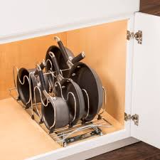 lynk under cabinet storage lynk professional slide out cookware organizer pull out under