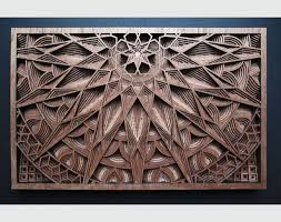 artist s awesome patterned sculptures come alive in laser cut 3d