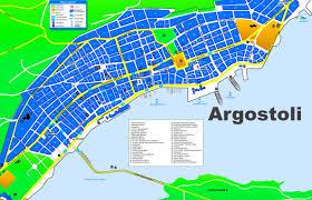 Thessaloniki Greece Map by Argostoli Maps Greece Maps Of Argostoli