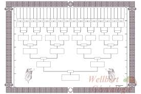 Printable Family Tree Template 6 Generations Empty To Fill In Family Tree Template