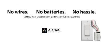 wireless light switch buy enocean compatible battery free