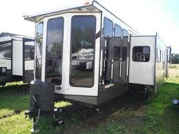 Fifth Wheel Floor Plans Bunkhouse Quad Slide Bedroom Travel Trailer Rv For Queen Beds Wildwood 4002q