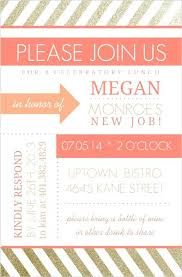 brunch invitations templates lunch invitation template with black gold simple luncheon