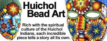 bead masks mexican folk huichol bead masks bowls figures