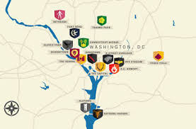 us map of thrones what if washington dc were of thrones
