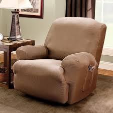 sure fit stretch stripe recliner slipcover walmart com