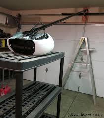 how to install a garage door throughout garage door opener