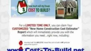 cost to build a house in alaska video dailymotion