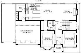 garage with loft floor plans 3rd floor loft and a tandem garage 23339jd architectural designs