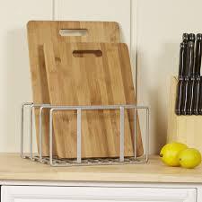 wayfair basicsa basics cutting board bakeware organizer wayfair basics trade cutting board amp