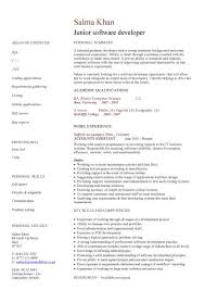 Web Developer Resume Example by Enjoyable Design Junior Web Developer Resume 4 Web Developer