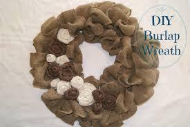 burlap wreath tutorial canary street crafts