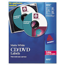 Avery 60 Labels Per Sheet Template by Avery Laser Cd Labels Matte White 30 Pack Walmart Com