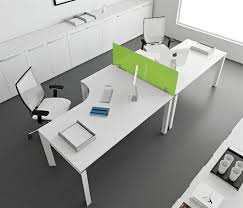 stunning modern home office desks with unique white glossy desk plus