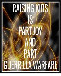 Gorilla Warfare Meme - raising kids part oy and guerrilla warfare dank meme on esmemes com