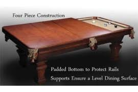 Pool Table Dining Table Top Pool Table Conversion Top Pool Table Top Triangle Billiards