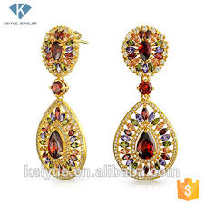 new jhumka earrings cz charka indian handmade new design gold plate jhumka