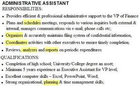 Resume Sample For Administrative Assistant Position by Examples Of Career Objective Marvelous Best Career Objective In