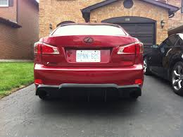 lexus is 250 toronto my 12 matador red is250 awd build toronto clublexus lexus