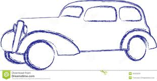 car sketch stock photos image 15393933