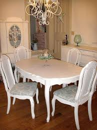550 for a shabby chic table with leaf u0026 4 chairs is pretty good