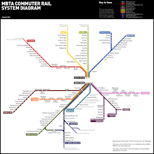 Boston Mbta Map by Unofficial Map Mbta Commuter Rail System This Is Transit Maps