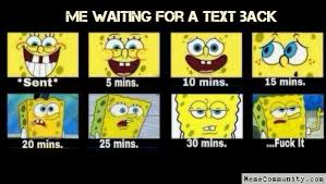 Waiting For Text Meme - memecommunity com me waiting for a text back pinteres