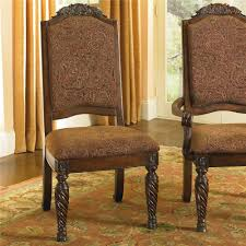 old world dining side chairs with elegant back crown rotmans