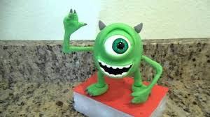 monsters inc cake toppers mike wazowski cake topper monsters inc monsters