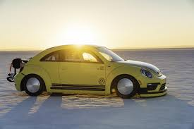 volkswagen beetle classic modified modified vw beetle with 543 hp reaches 205 mph at bonneville