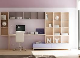 biblioth ue avec bureau bibliotheque murale multi cases avec tiroirs dynamic bureau