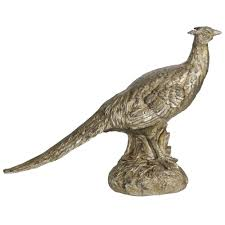 15 in pheasant decorative statue brown pheasant and products