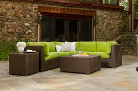 Patio Sectional Outdoor Furniture Outdoor Wicker Sectional