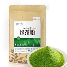Teh Hijau Serbuk elife 100g alami murni organik bersertifikat bebas aditif matcha teh