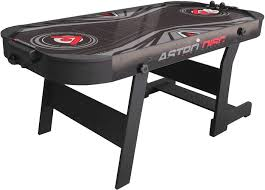 foldable air hockey table buffalo astrodisc airhockey 6ft foldable air hockey