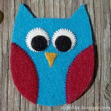 slair s lair felt owl pattern