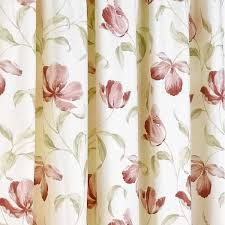 Pink Pleated Curtains Sundour Ascot Pink Floral Readymade Pencil Pleat Curtains