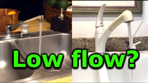 kitchen faucet low water pressure how to fix low water pressure in kitchen or bathroom faucet sink