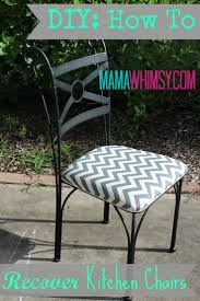 Recover Patio Chairs by Best 25 Kitchen Chair Cushions Ideas On Pinterest Kitchen