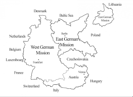 Map Of Germany And Austria by Introduction Religious Studies Center