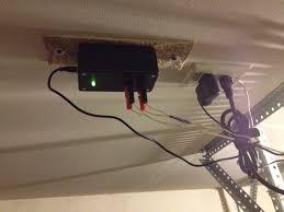 garage door sensor yellow light arduino xbee garage door indicator karlduino